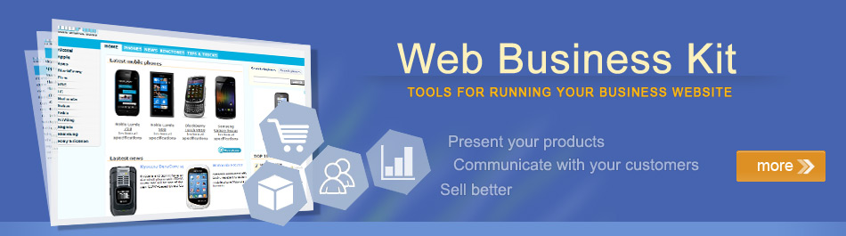 Web Business Kit - Tools for running your business online