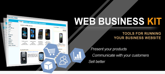Web Business Kit - Tools for running your business website